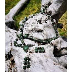 collier en Jade vert