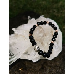 bracelet Onyx bouddha