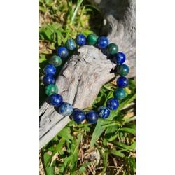bracelet Azurite - Malachite
