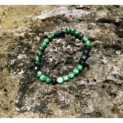 bracelet Rubis Zoïsite